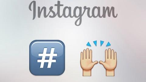 Instagram update: tre nuovi filtri e hashtags emoji !