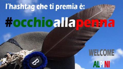 L'Aquila e gli Alpini: #occhioallapenna