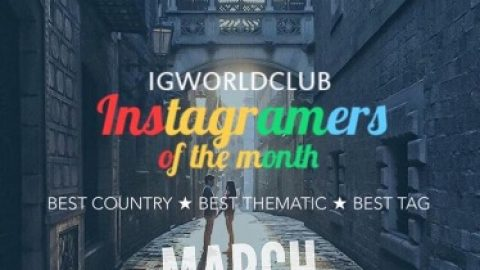 Instagramers of the Month March