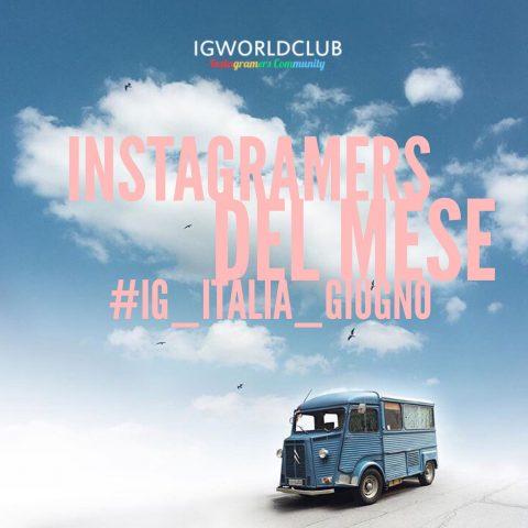 Instagramers del Mese Giugno
