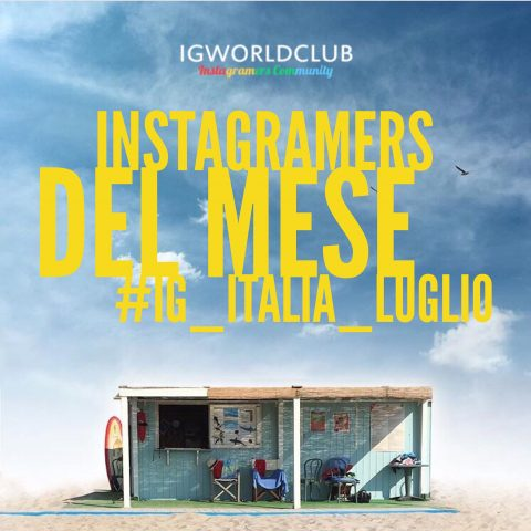 Instagramers del Mese Luglio
