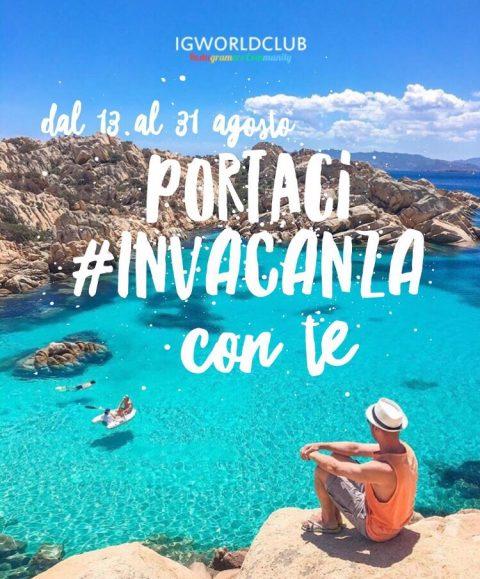 #invacanza