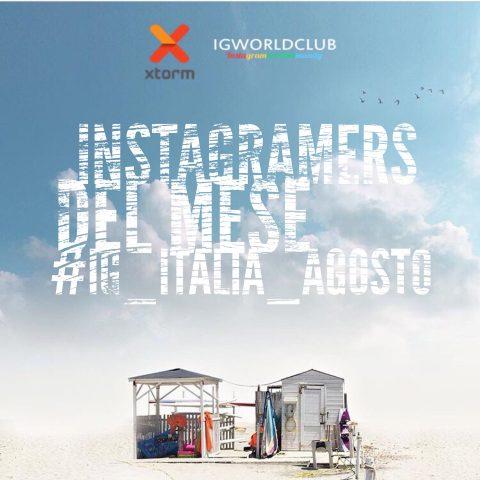 Instagramers del Mese Agosto