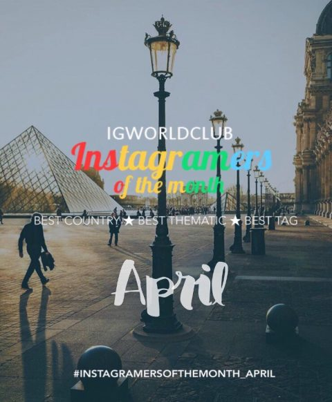 Instagramers of the Month April 2017