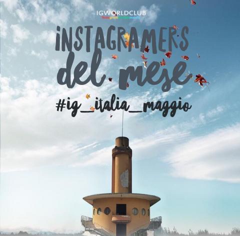 Instagramers del Mese Italia Maggio 2017